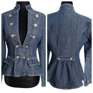 BOOM BOOM JEANS High Fashion Denim Jacket S